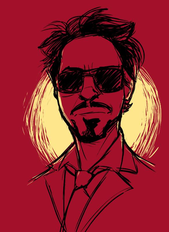 Tony Stark by pai-draws.deviantart.com on @deviantART