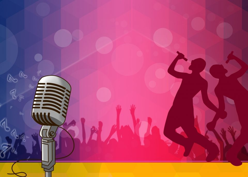 Background Material For Singing Competition Poster   Singing competitions,  Free background photos, Font illustration