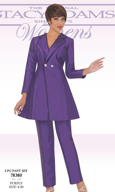 a7d0cdd50a7 Ben Marc 78380 Stacy Adams Womens Pant Suit