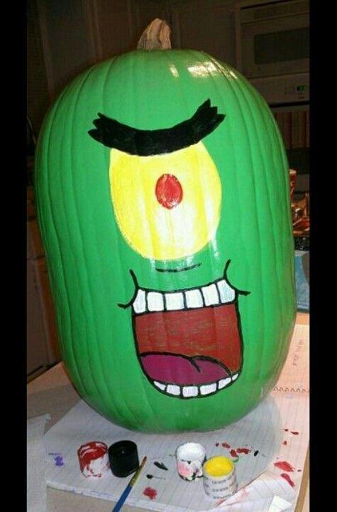 Pingl par st phanie collard sur f tes halloween pumpkin decorating et spongebob halloween - Citrouille effrayante ...