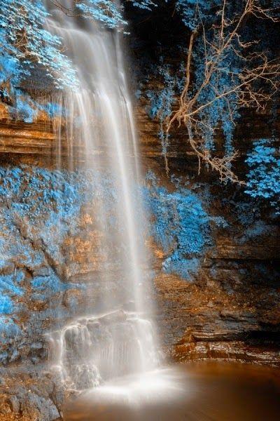Glencar Falls in Ireland