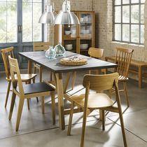 Mesa de madera y cemento pulido Farmer