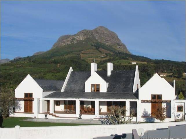 Cape Dutch style house | Dutch house, Modern beach house ...