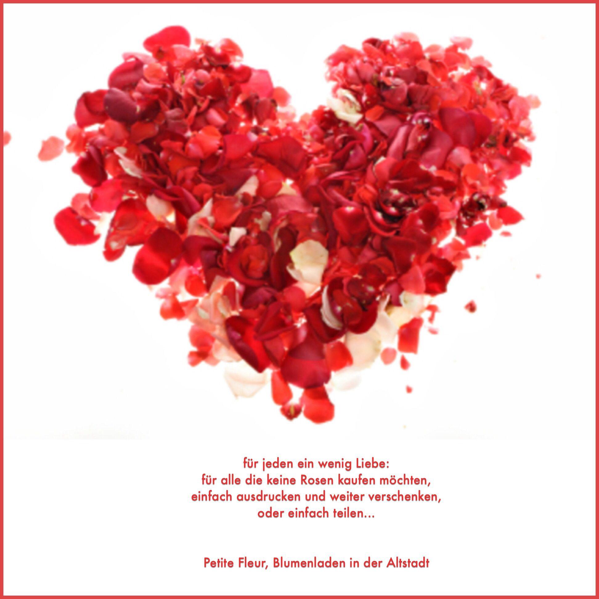 Blumenladen Valentinstag