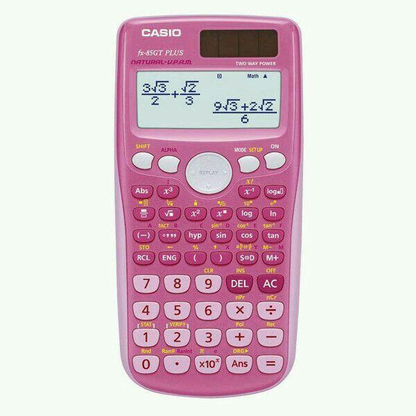 Pink calculator💖 (sempre na mochila da escola