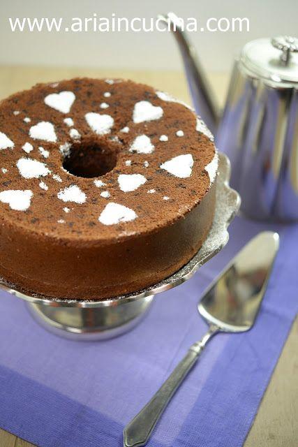 Blog di cucina di Aria: Chiffon Cake al cacao per un\'amica da sempre ...