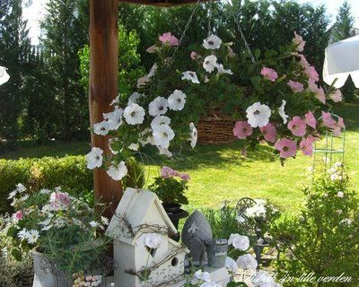 Patios y jardines grandes peque os for Lindos jardines pequenos