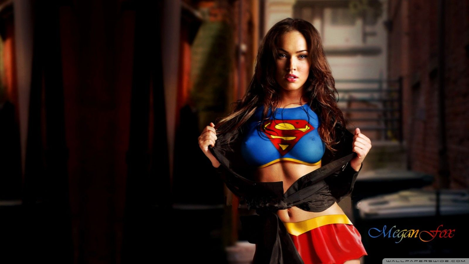 Hd wallpaper superman - Megan Fox 2013 Superman Hd Wallpaper Yoyo