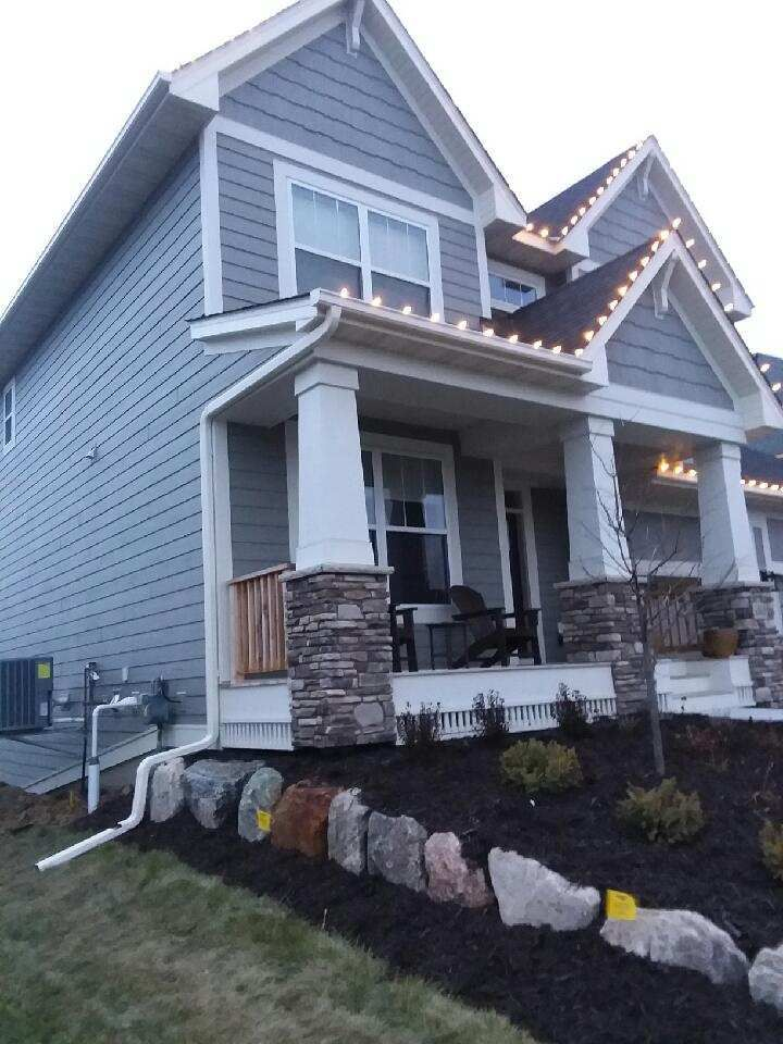 Rainpro Gutter Installation Completed November 2017 In St Michael Mn Gutters How To Install Gutters Seamless Gutters