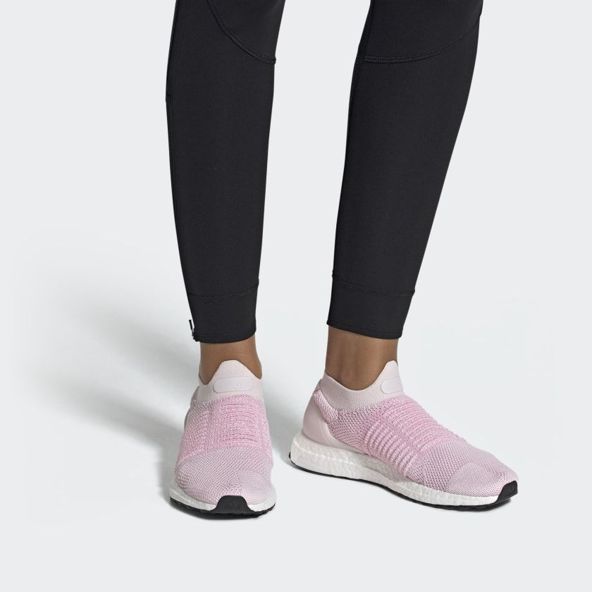 3119668a4 Ultraboost Laceless Shoes Orchid Tint   True Pink   Carbon B75856