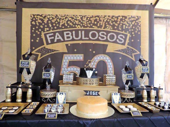 En esta ocasion te quiero compartir unas increibles ideas - Fiesta 50 cumpleanos ideas ...