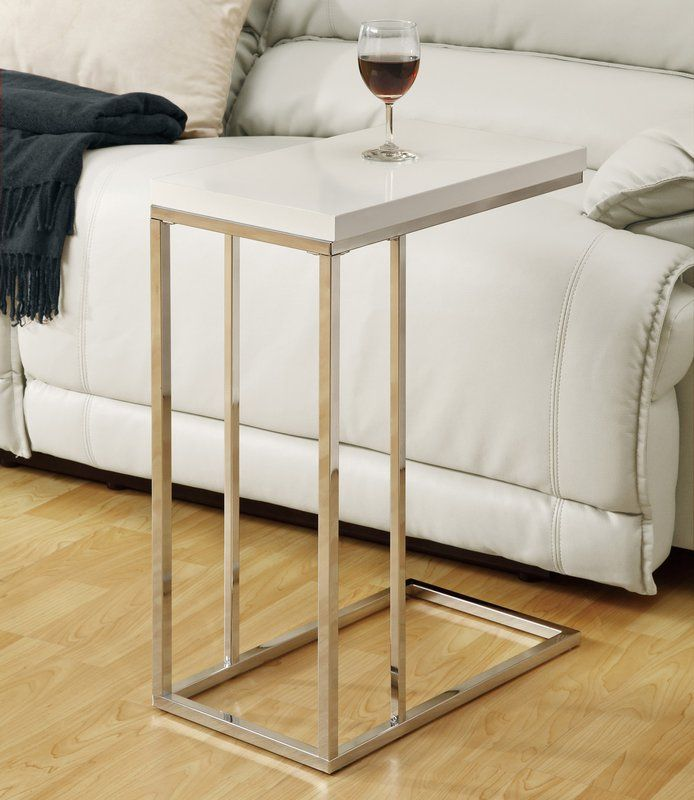 Marble And Gold Margaux Laptop Table: Myrtlewood End Table
