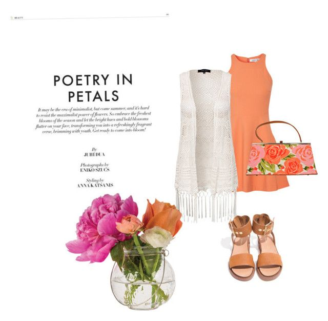 """Petals"" by brtnynchl ❤ liked on Polyvore featuring Elizabeth and James, New Look, Glenda Gies and Cultural Intrigue"