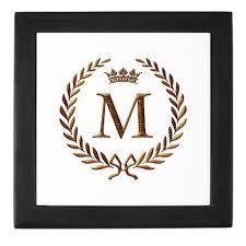 Monogram Letter M Free Printable Art Monogram Letters Monogram Signs