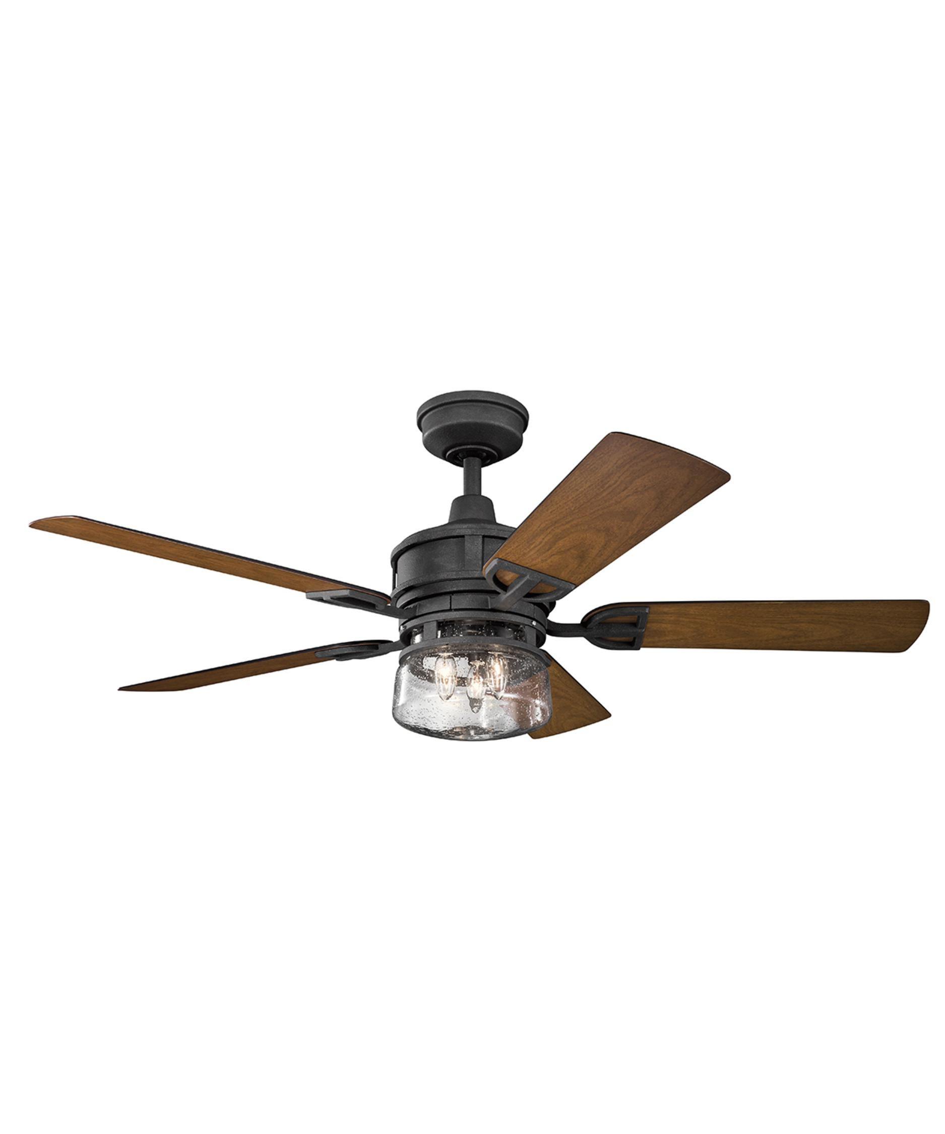 Kichler 310139 Lyndon Patio 52 Inch Ceiling Fan With Light