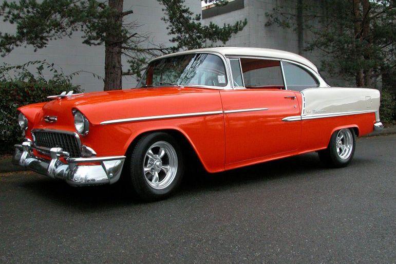 Belair Auto Auction >> 1955 CHEVROLET BEL AIR Lot 61 | Barrett-Jackson Auction Company | Cars and Trucks. | 1955 ...
