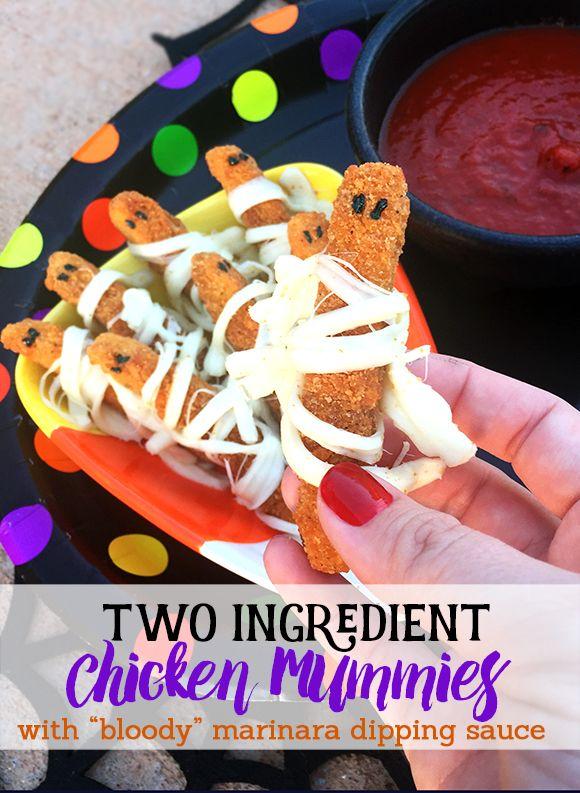 chickenmummies-frugalnovice-tyson Halloween Pinterest Easy - cute easy halloween treat ideas