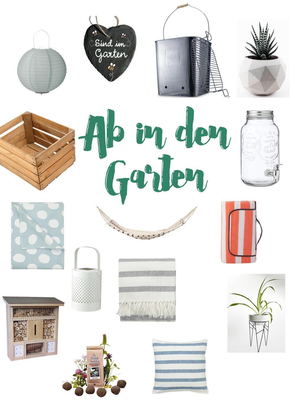 Gartensaison Must-haves | Garten Fruhjahrsputz Garten Tipps Gartensaison