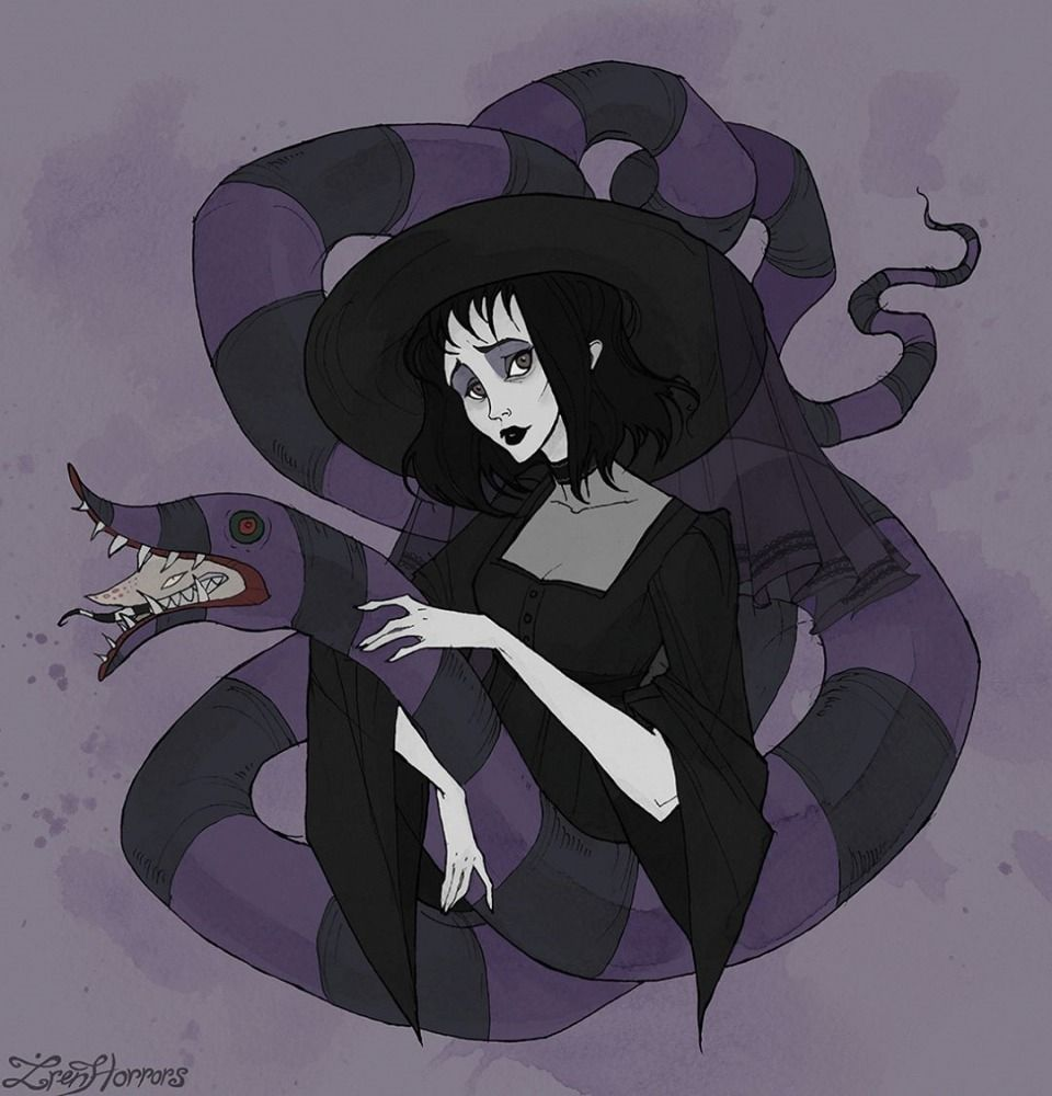 No Face Is God Sosuperawesome Iren Horrors On Instagram Beetlejuice Tim Burton Art Lydia Deetz