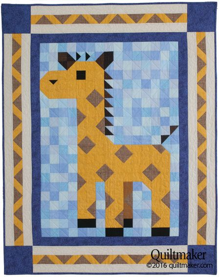Lanky Patch Quilt Kit Quilt Kits Quilts Baby Quilt