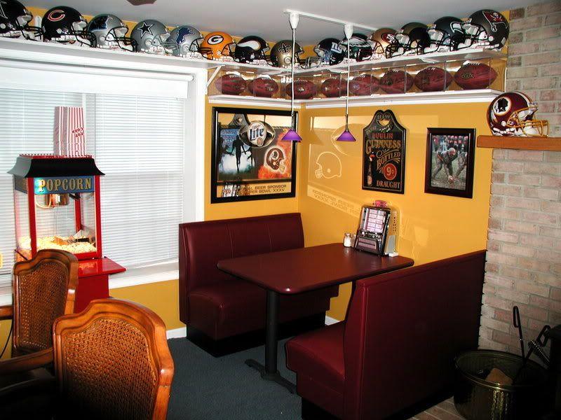 Basement bar booth Home, Basement decor, Home decor