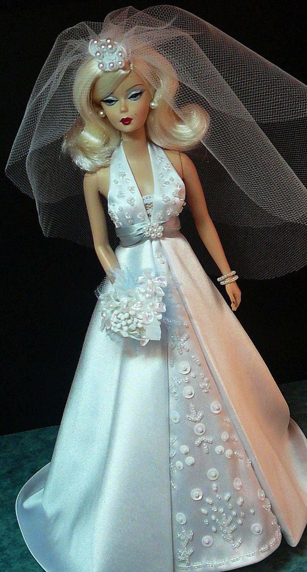 Bridal Barbie.http://www.donnasdolldesigns.com/photo_13.html | Bride ...