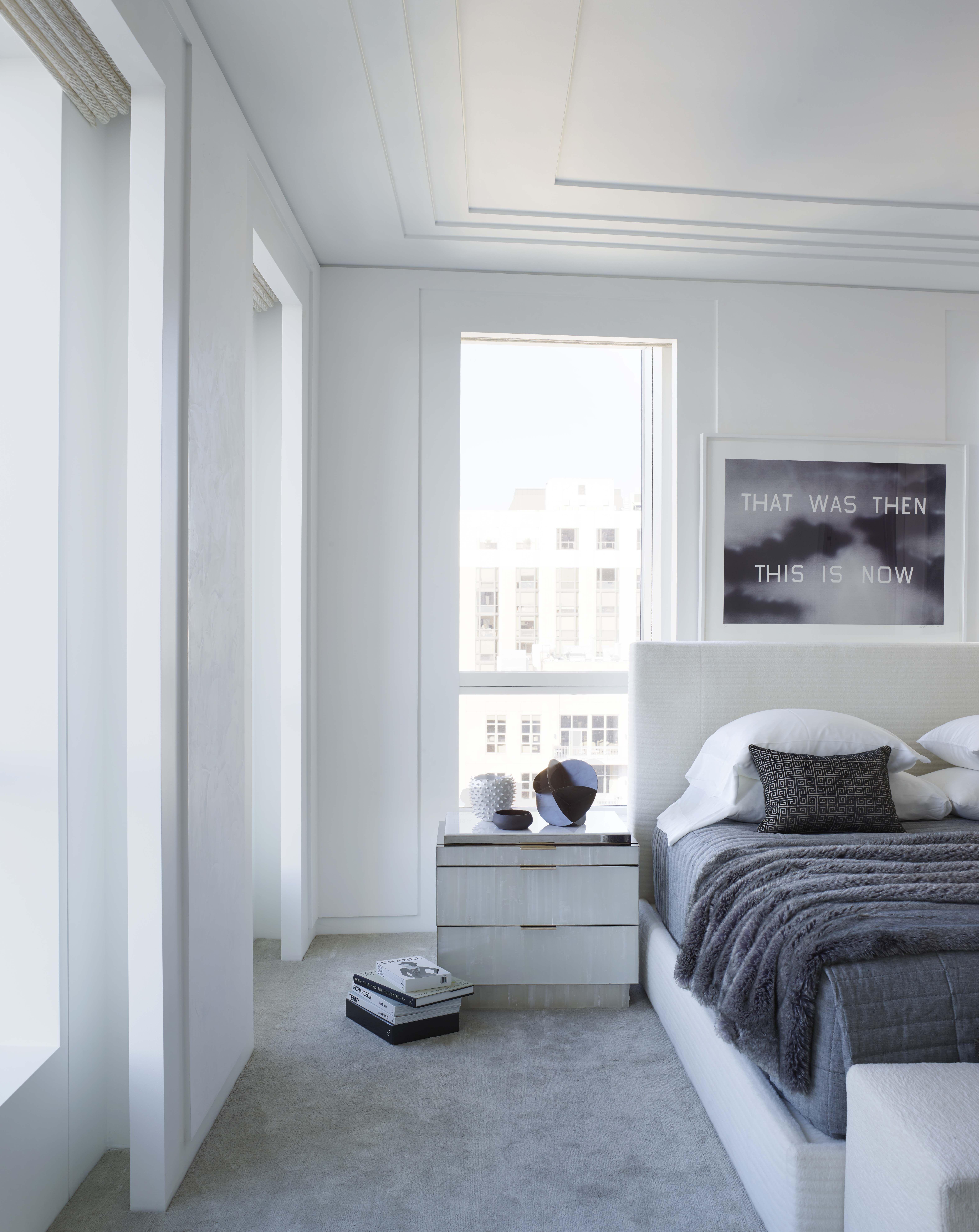 Master Bedroom Gold Coast Penthouse Chicago Kara Mann Interior Design Gold Coast Penthouse Interior Design
