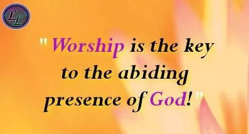 Yet a time is coming and has now come when the true worshipers will worship the Father in the Spirit and in truth, for they are the kind of worshipers the Father seeks. Author Felicia Emanuel - Google+