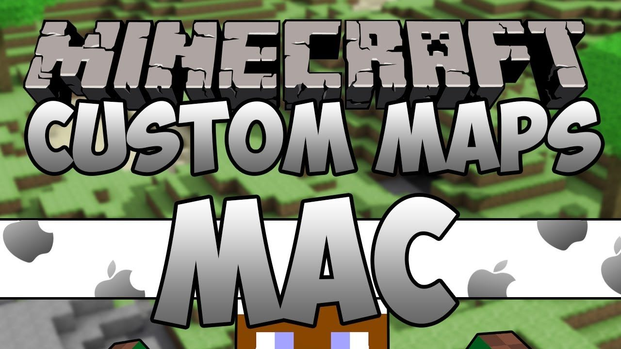 Minecraft How To Install Custom Maps On MAC ALL VERSIONS - Minecraft maps fur mac