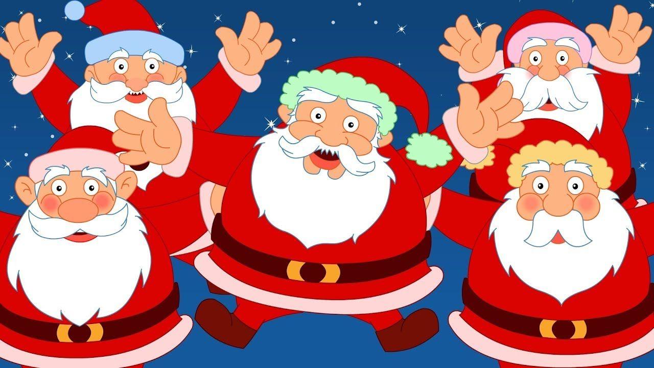 Five Fat Santa\'s | Santa Song | Christmas Videos | Xmas | Christmas ...