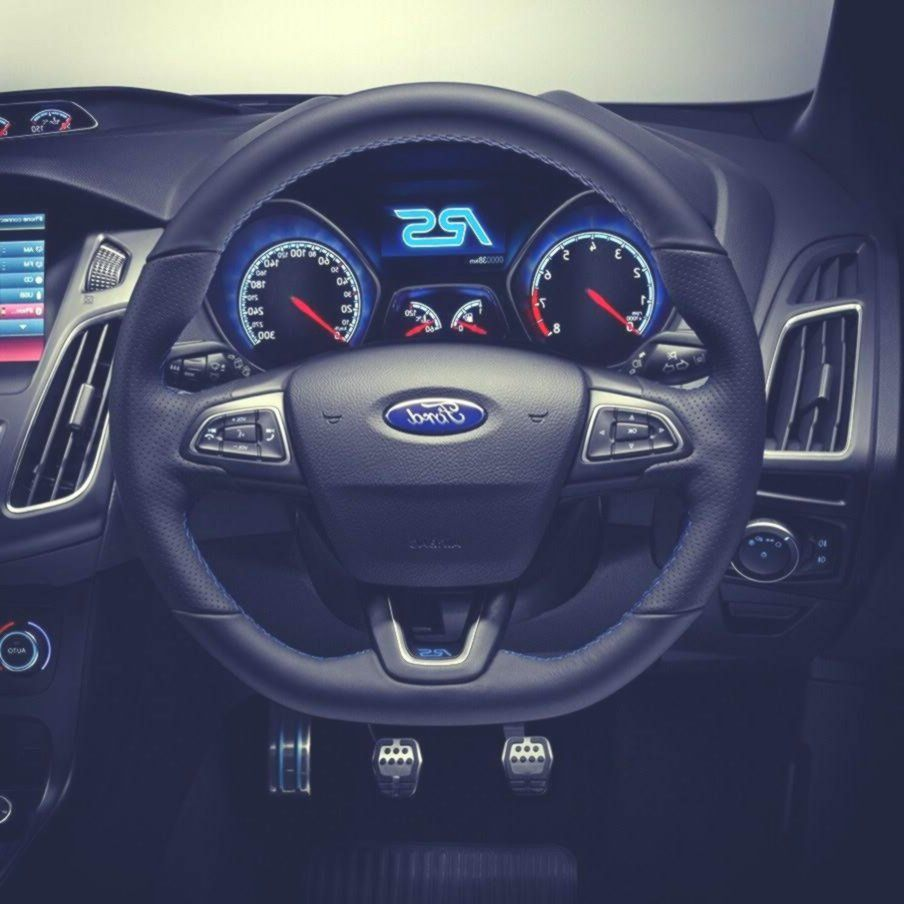 Amazing Blue Interior Of The New 2020 Ford Focus Rs In 2020 Ford Focus Ford Focus Rs Focus Rs