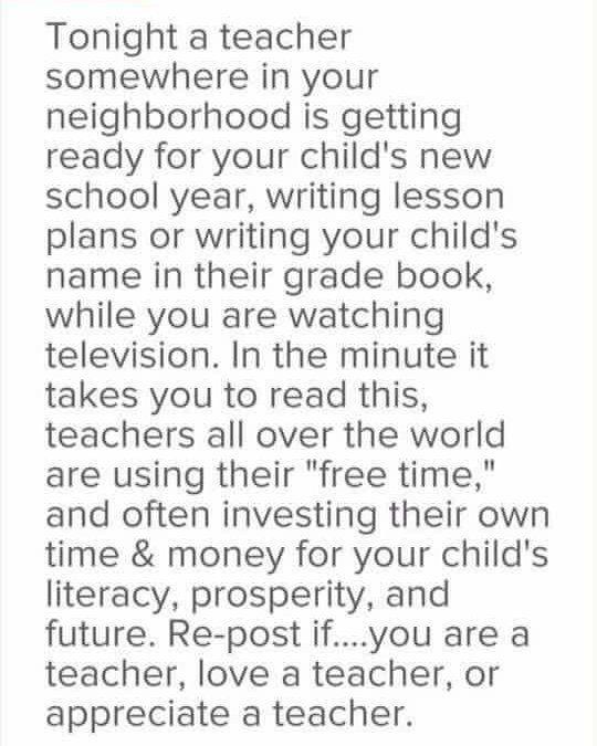 Deep . . . . . . . #respect  #teacher #teacherlife #TLAORG #hardworker