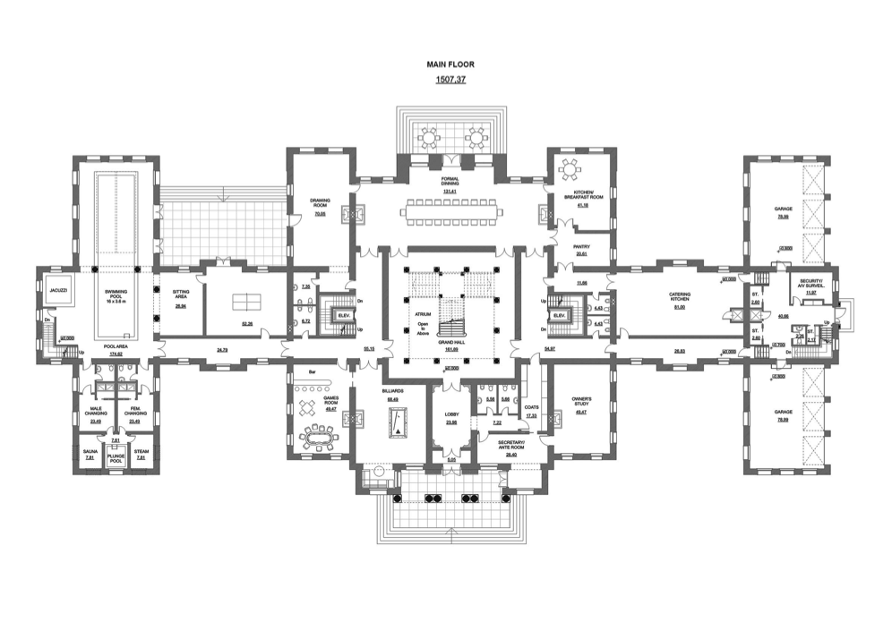 design floor plans check out hotr reader anna os amazing mega mansion design she used archicad for design
