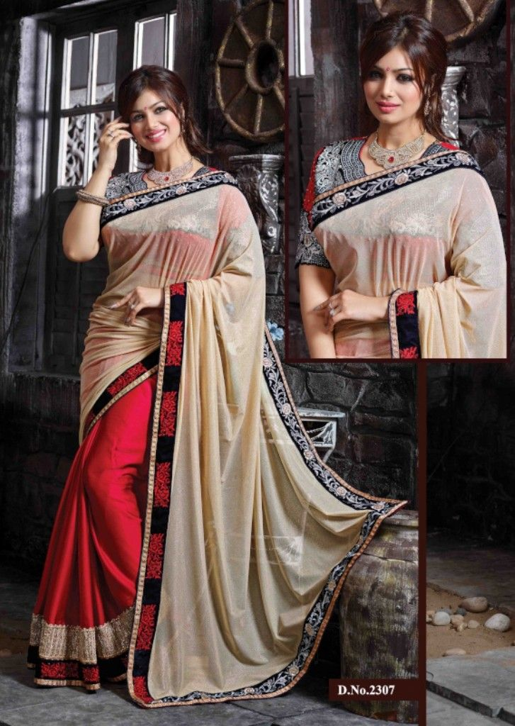 Imposing Ayesha Takia In Chikoo & Red Saree