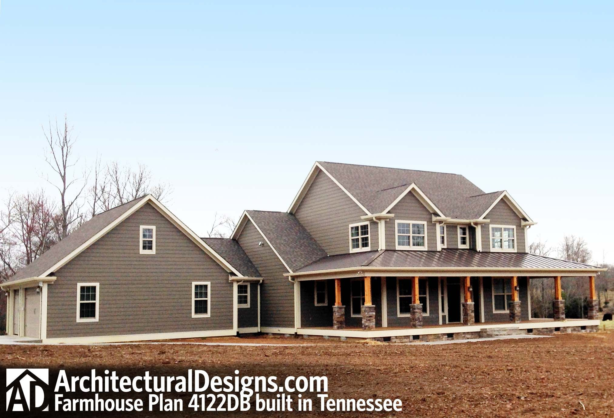 Country Home Plan With Marvelous Porches