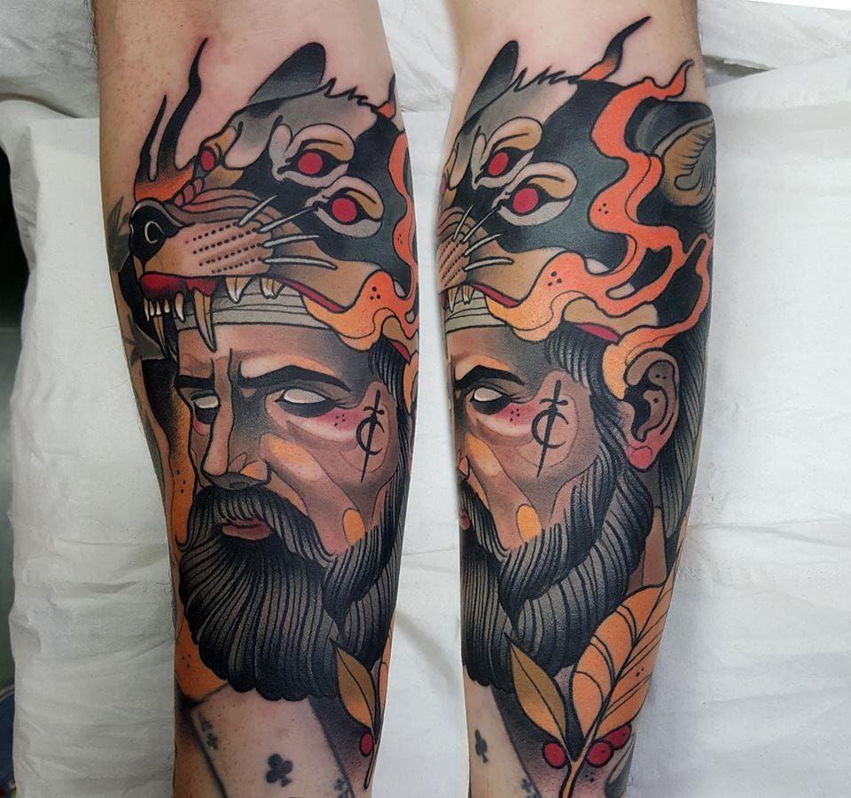 52eadcac0 Breathtaking Neo-Traditional Tattoos By Toni Donaire | Neo ...
