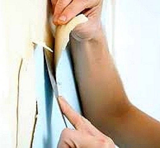 Best Way to Remove Wallpaper, Glue, Paste Residue and