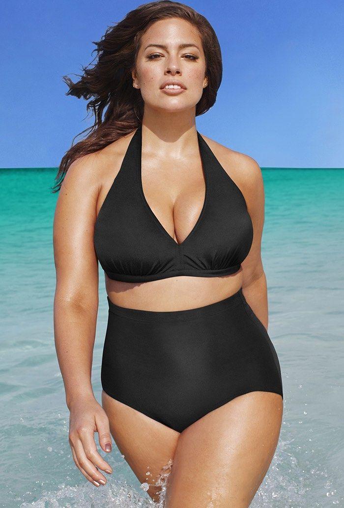 940e3d01b9359 Swim Sexy The Diva Black High Waist Bikini