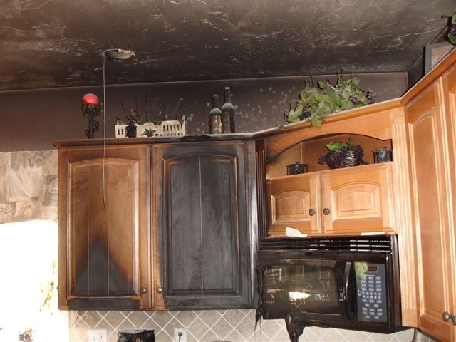 kitchen cabinets cleaning and restoration smoke cleanup water damage zone free estimate 8006