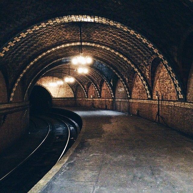 Vanishing point, Underground NYC