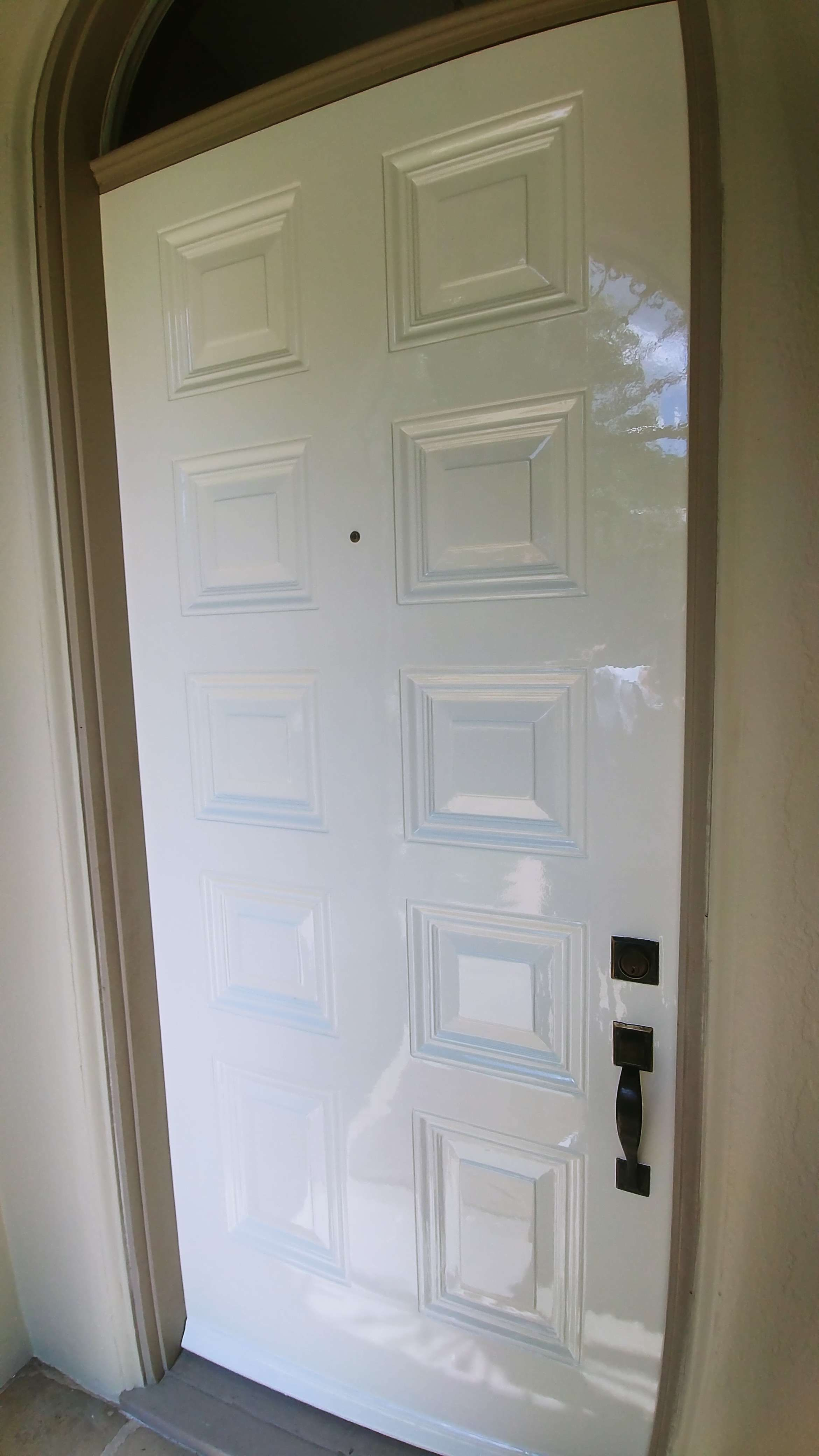 White High Gloss Fine Paints Front Door Painted Front Doors Fine Paints Of Europe Exterior Door Colors