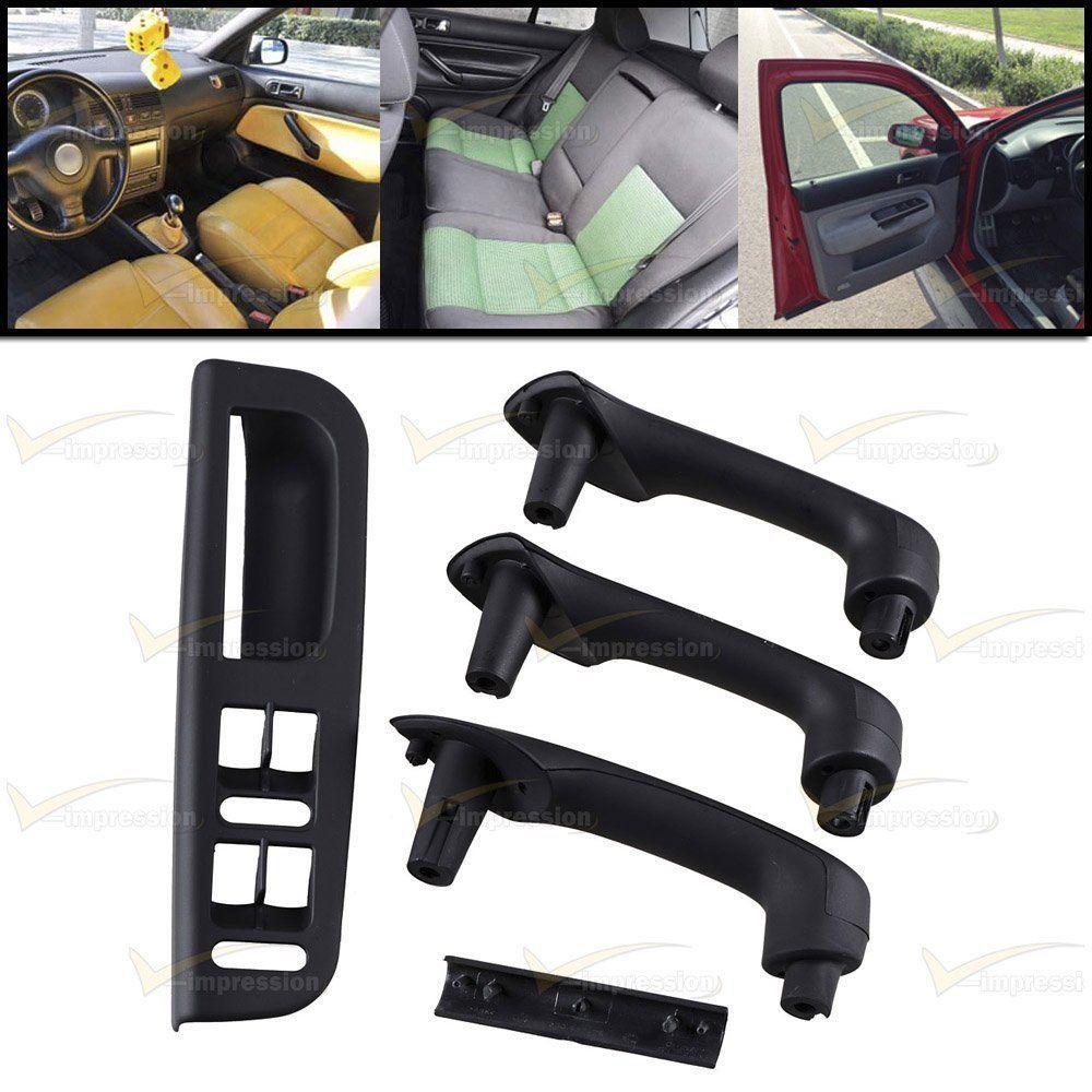 Window Switch Bracket Bezel Door Handle Grab Cover For 99 04 Vw Jetta Golf Mk4 Vimpression Vw Jetta Door Handles Bracket