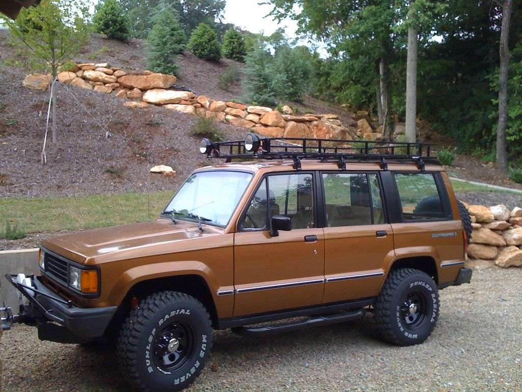 Check Out Thewatson 1988 Isuzu Trooper In Greenville Sc For Ride Specification Modification Info And Photos And Follow Thewatson S Trooper 4x4 Trucks Suv 4x4