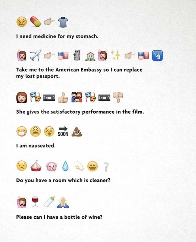 The Emoji Translation Project Emoji Sentences Emoji Sentence Examples