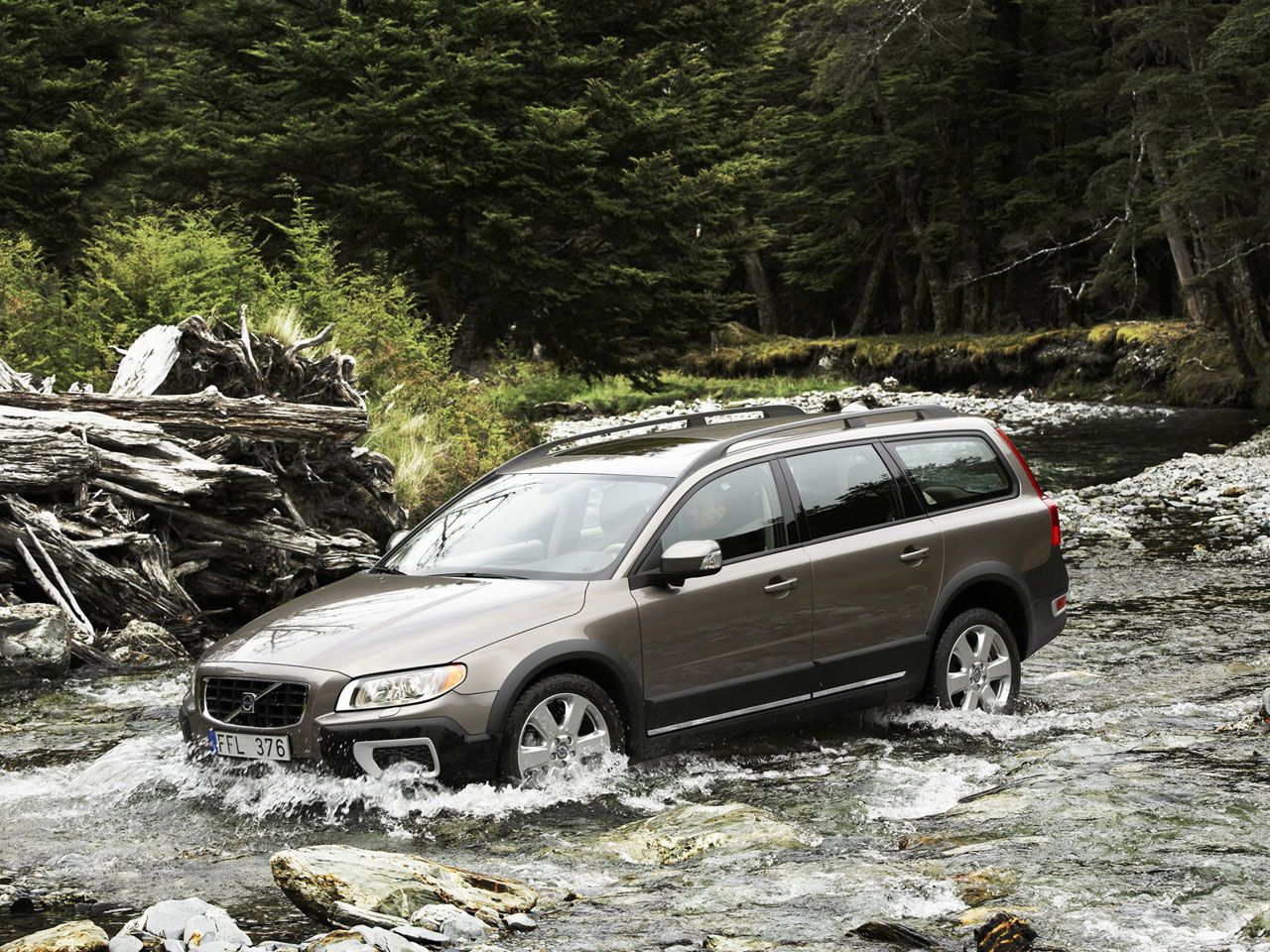 The volvo xc70 is a beast of a machine that can take on almost any off