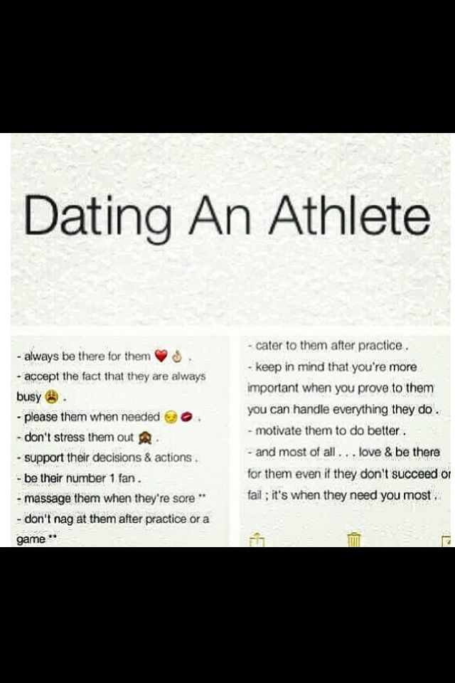 25 facts about dating an athletic girl quotes
