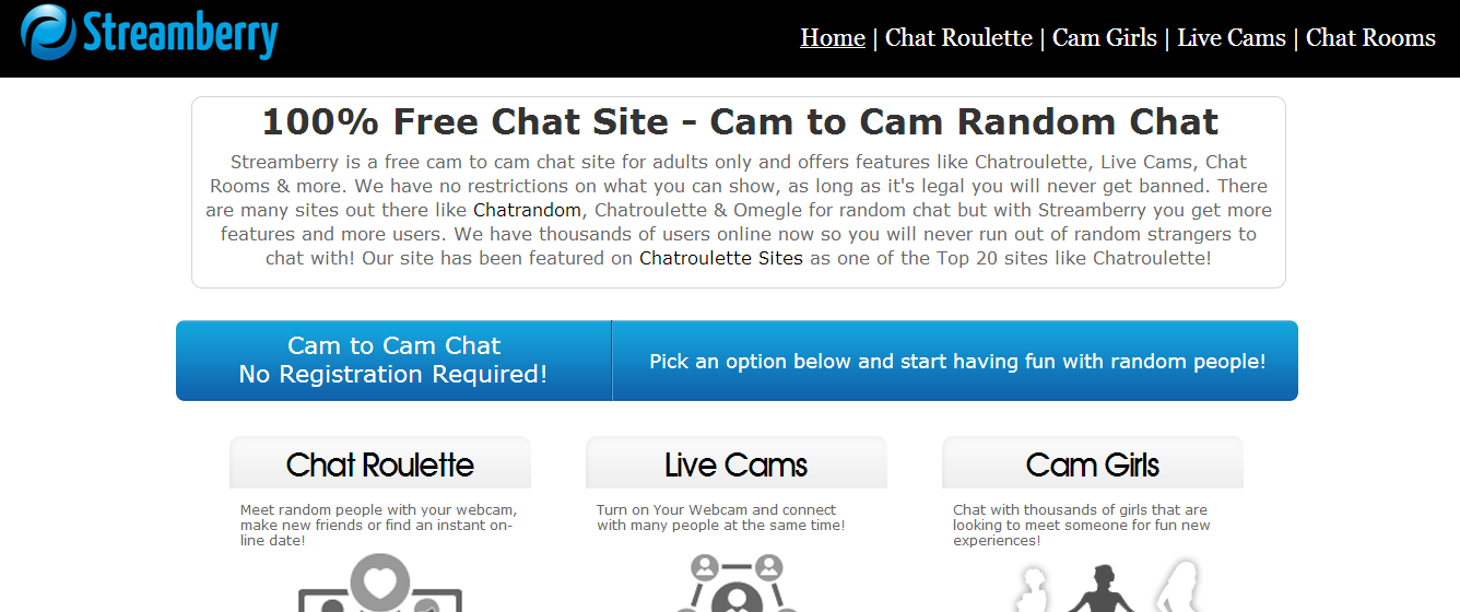 Random cam chat rooms