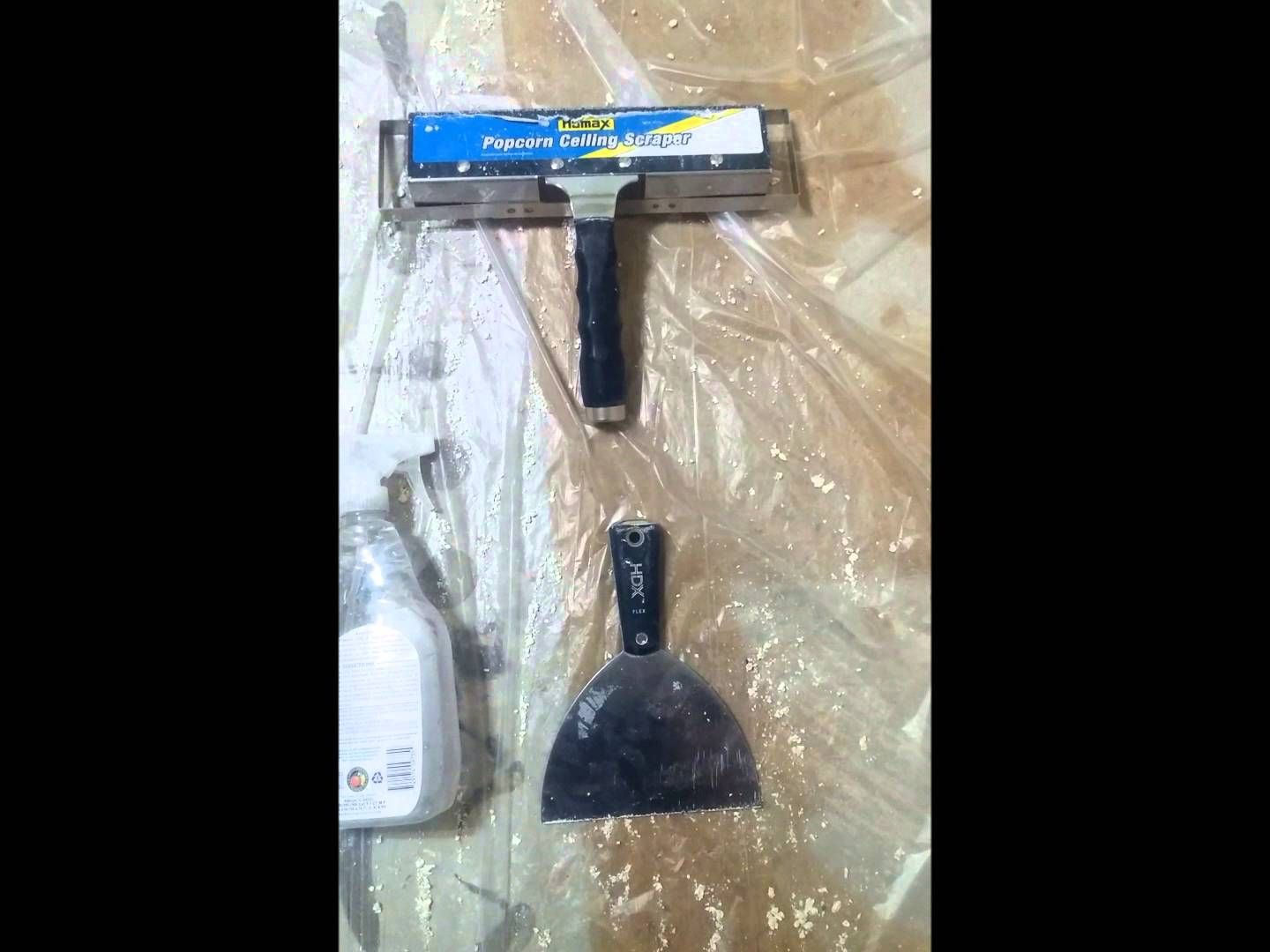 Fastest Way to Remove a Painted Popcorn Ceiling Removing