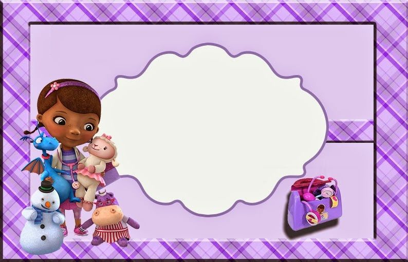 Free Printable Invitations Party Printables Invitation Cards Doctor Mcstuffins