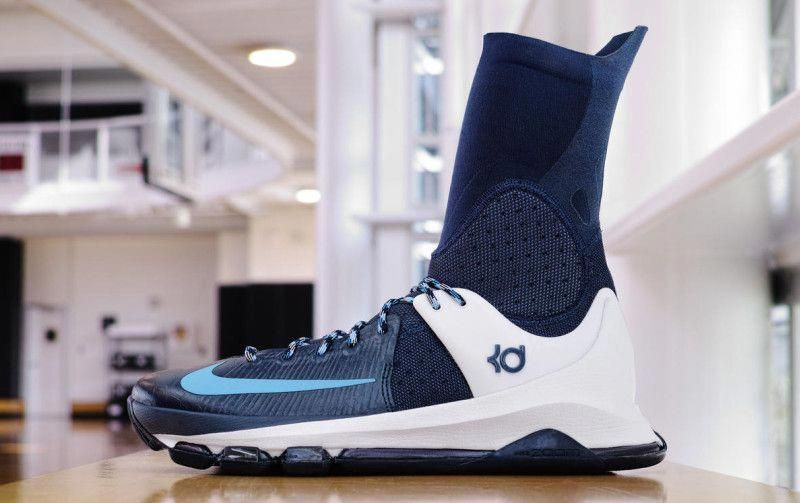 new product 36349 0c527 Nike KD 8 Elite Blue White  bestbasketballshoes